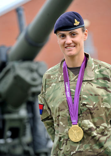 The Army's New Golden Girl