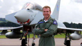 Sir Chris Hoy swaps speed on the track for speed in the air