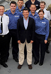 Sebastian Coe thanks the Armed Forces for their Olympic contribution