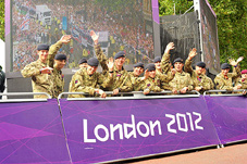 Image for Armed Forces take part in 'Our Greatest Team' Parade