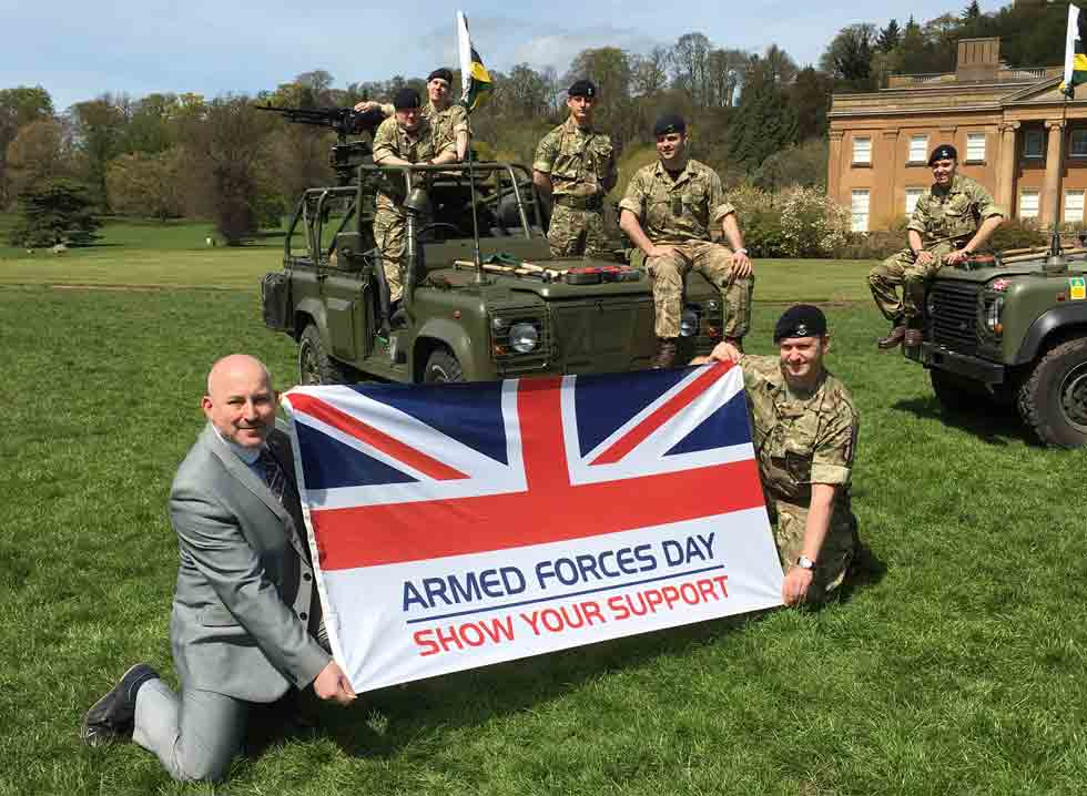 Image for Celebrating the Work of Service Personnel
