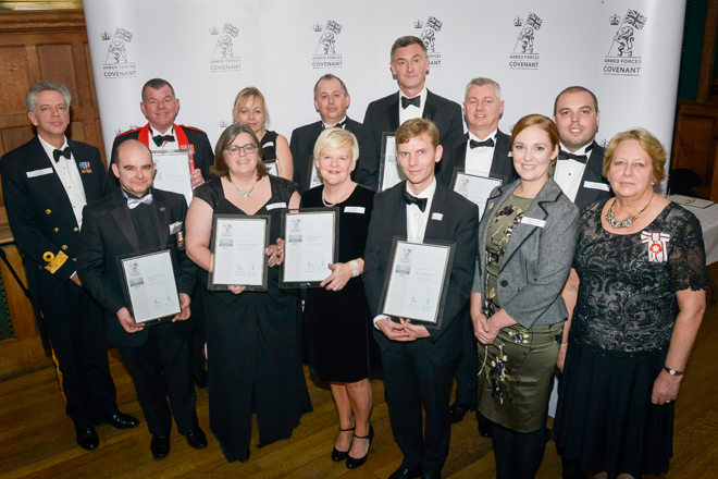 Forces Recruitment Services Receives Coveted MoD Award