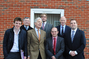 Image for Leading ex-military recruiter welcomes MEP visit to the region