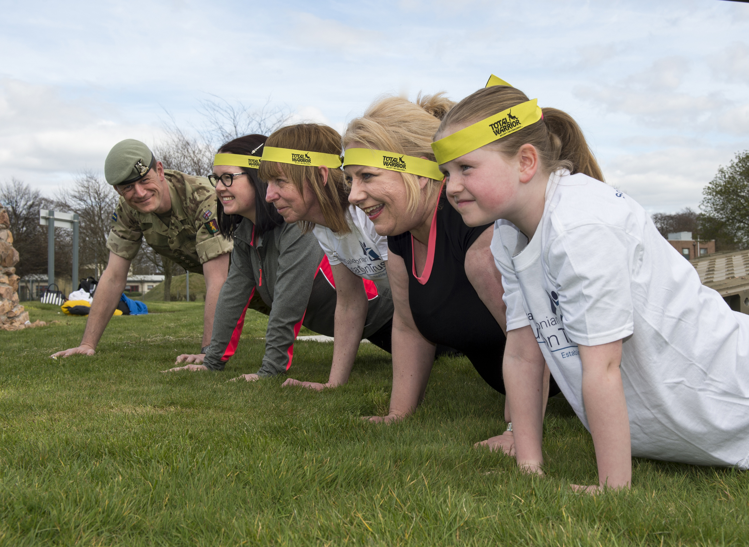 Image for Soldiers Sign Up For Total Warrior To Raise Money For Scottish Children's Charity