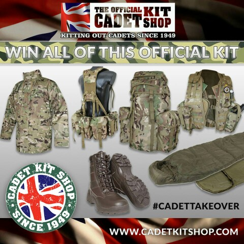 Image for Win £500 Worth Of Kit By Joining The BFBS Cadet Takeover!