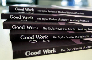 Image for Taylor Review Highlights '7 Principles For Good Quality Work For All'