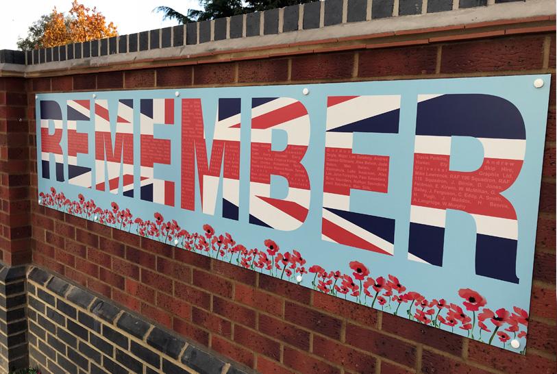 Image for FRS Sponsors Local War Memorial