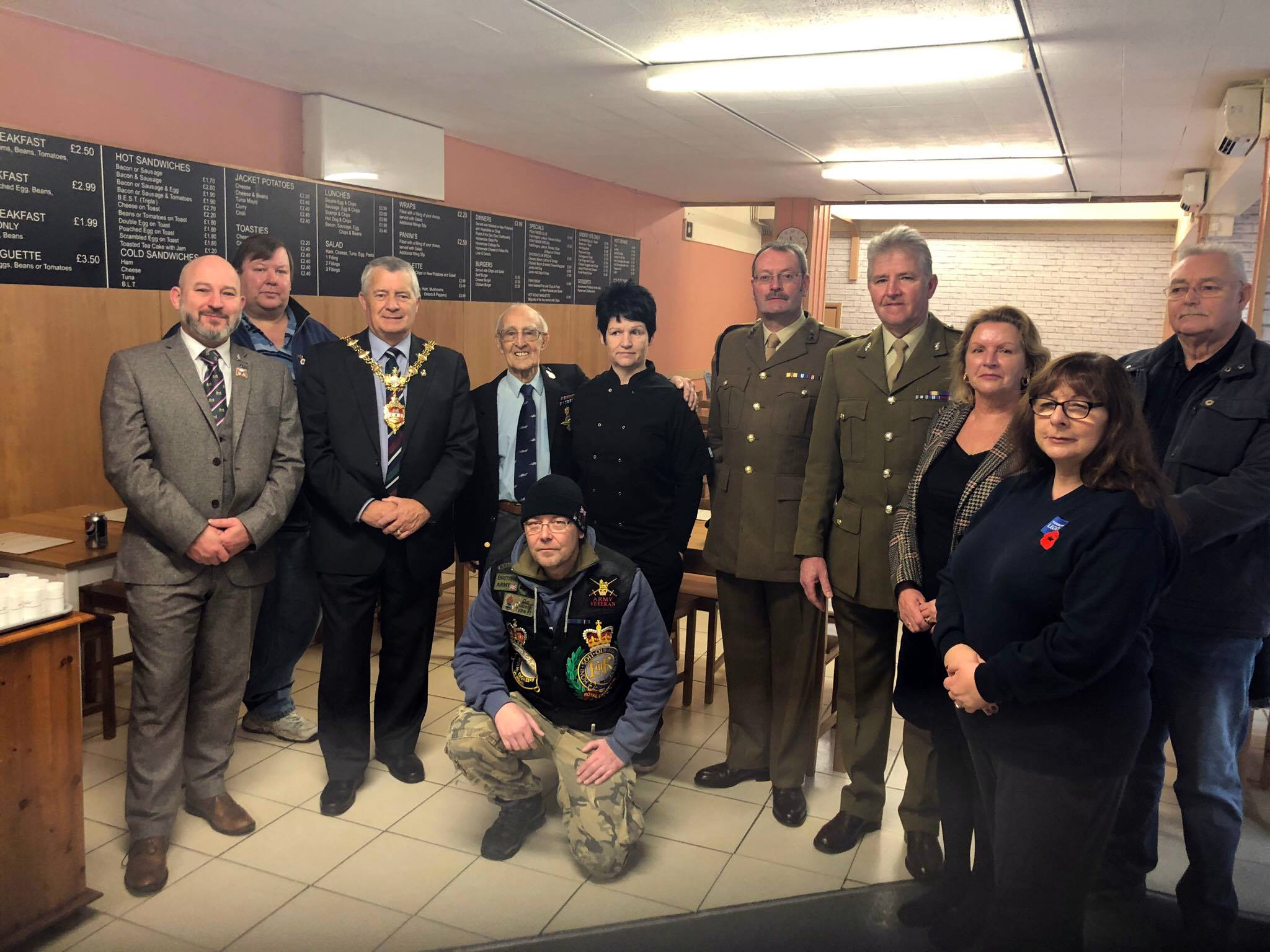 Image for First Armed Forces Breakfast Club Hailed a Great Success