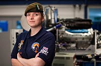 Image for Female REME Mechanic goes SuperSonic!