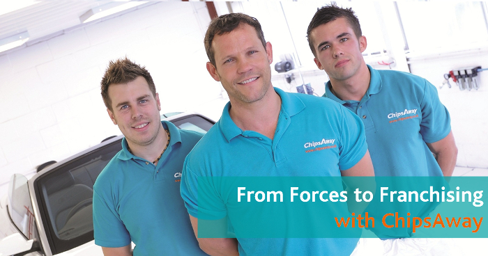 Image for From Forces To Franchising With ChipsAway