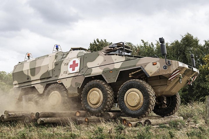 Companies Get Green Light On Army Vehicles