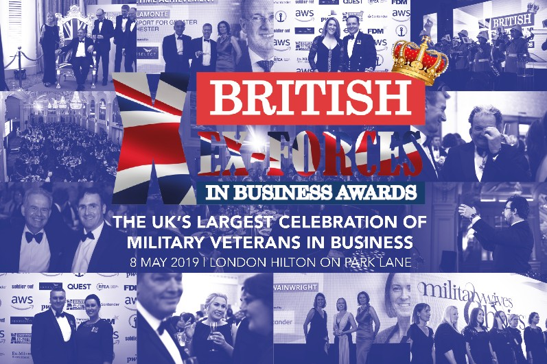 Image for TheBritish Ex-Forces In Business Awards