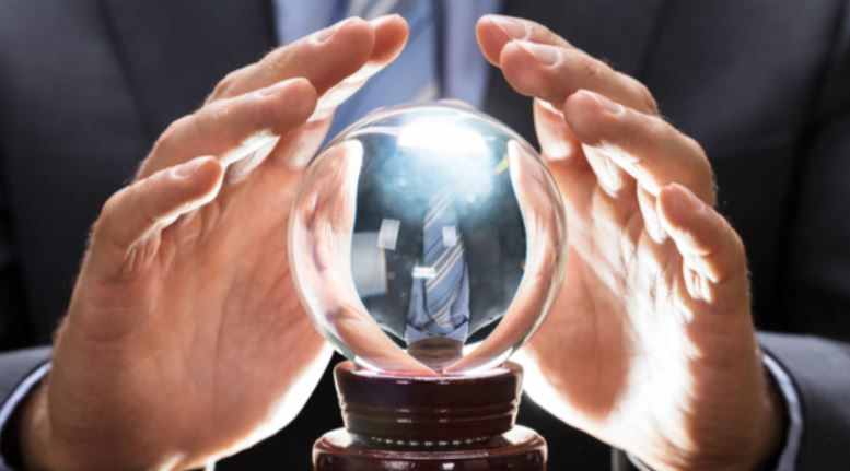 YOU DON'T NEED A CRYSTAL BALL TO HIRE