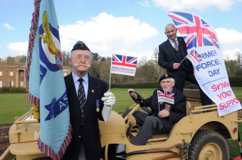 Image for FRS and Dudley Council Sponsor Armed Forces Day