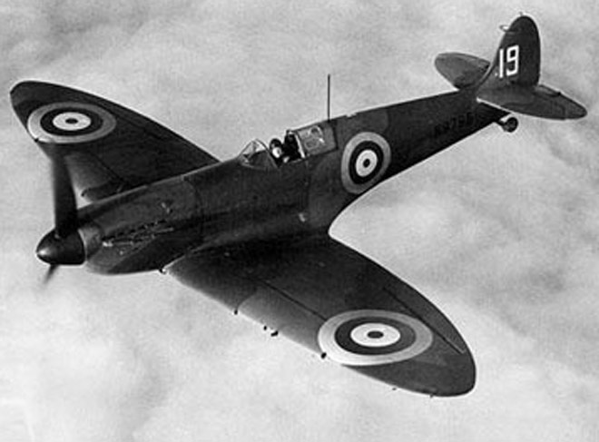 Image for RAF Spitfire Flypast Announced