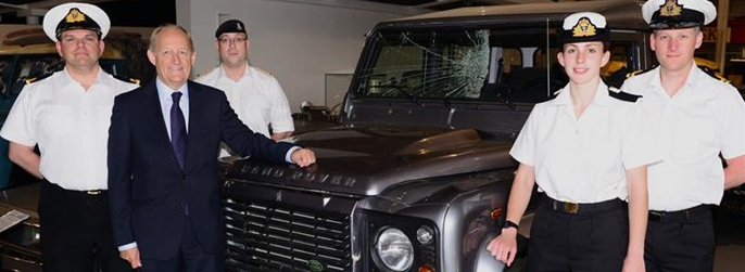 Image for Jaguar Land Rover Launches Industry Training To Ex-Military Personnel