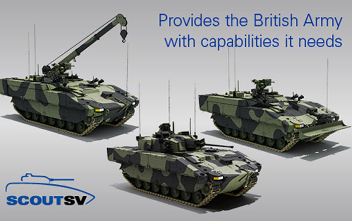 Image for 3.5 Billion Fighting Vehicle Contract Secures UK Engineering Jobs